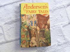 Vintage Children's Book Andersen's Fairy Tales 1957