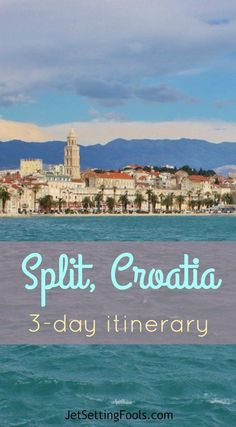 To help fellow travelers, we've devised a 3-Day Split Itinerary that incorporates city, sea, mountains, history, cuisine, sports – and is just enough time to experience Split. (Yet, it will most likely leave you wanting more.) On a recent trip, we were interested not only in retracing our steps to our favorite spots, but in discovering new experiences, too. We partnered with Adiona Travel for local insight to add to our adventures in Split. #Croatia #Itinerary #Croatia #Itinerary