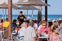 Beach Bar in Barcelona