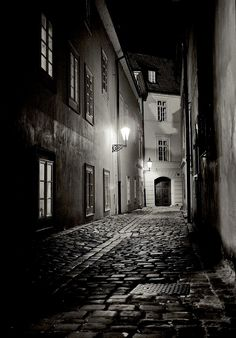 Streets of Prague 2 Silver Art Print Czech by ScottKrycia Prague, Fine Art Photography, Street Photography, Beautiful World, Beautiful Places, Foto Gif, Night Photos, Night City, City Streets