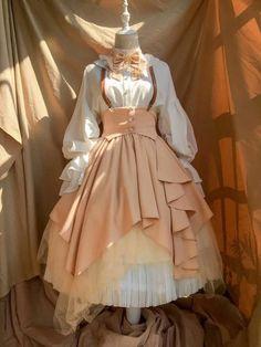 Style Lolita, Mode Lolita, Pretty Outfits, Pretty Dresses, Beautiful Dresses, Kawaii Dress, Kawaii Clothes, Cosplay Dress, Cosplay Outfits