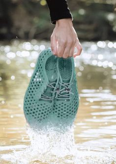 These Shoes Help Clean Lakes–Because They're Made Of Polluting Algae