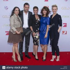 Simone Panteleit, Matthias Killing, Vanessa Blumhagen, Marlene Lufen, Karen Heinrichs at German TV ProSieben 2013/2014 season presentation. Where: Hamburg, Germany When: 26 Jun 2013