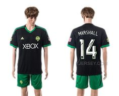 http://www.xjersey.com/201516-seattle-sounders-14-marshall-third-away-jersey.html 2015-16 SEATTLE SOUNDERS 14 MARSHALL THIRD AWAY JERSEY Only $35.00 , Free Shipping!