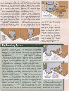 #1099 Trouble-Free Hand Routing Techniques - Router
