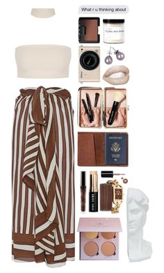 """""""She represents"""" by assmaal ❤ liked on Polyvore featuring Tome, Versus, Bobbi Brown Cosmetics, TOMS, Three Hands, Nikon, Don't AsK, Fig+Yarrow and NARS Cosmetics"""