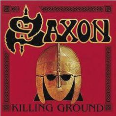 """L'album dei #Saxon intitolato """"Killing ground""""."""