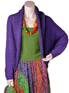 Amy pattern by Berroco Design Team. Free.