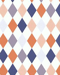 This piece of wallpaper from Ferm living would make any room a happier room
