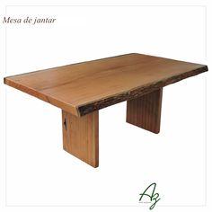 A Az é especializada na fabricação de mesas de jantar em madeira natural e maciça. De maneira artesanal produzimos peças exclusivas nas medidas que melhor se encaixem no seu projeto! Conheça nosso site: azartenatural.com