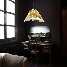 Suspension lamp designed for LZF by the Spanish designer Luis Eslava available in two versions. The handcrafted Armadillo lamp, with its mosaic of Polywood® slats, creates a striking interplay of. Armadillo, Modern Lighting, Lighting Design, Lamp Design, Pendant Lighting, Light Fixtures, Indoor, Ceiling Lights, Home Decor