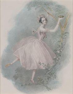 ballerina Marie Taglioni  La Sylphide