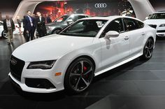 ♥Audi showcases its exclusive program with the introduction of the 2015 RS7 Dynamic Edition at the New York Auto Show.