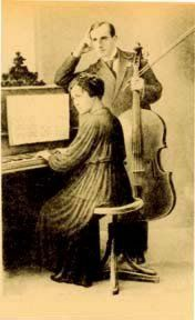 Parents of Rostropovich in Baku, Leopold and Sophia, around 1930-31
