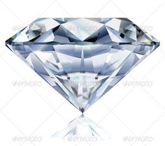 Diamond File version: Realistic illustration of a diamond on white background. NO gradient mesh and no transparencies. Diamond and reflection are on separate layers. Created: GraphicsFilesIncluded: VectorEPS Layered: Yes MinimumAdobeCSVersion: CS Tags: Get A Tattoo, Back Tattoo, Tattoo Shop, Diamond Tattoo Designs, Diamond Tattoos, Traditional Diamond Tattoo, Sketchy Tattoo, Diamond Vector, Just Ink