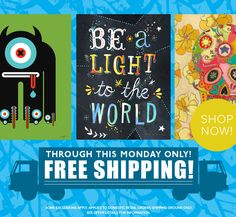 Free Shipping On ALL Orders At Wheatpaste through July 14th – This Weekend Only!