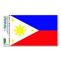 Philippines Flag MAG-Neato'stm Automotive Car Refrigerator Locker Vinyl Magnet