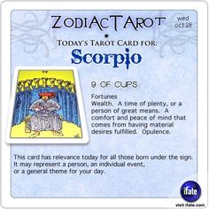 Click on ZodiacTarot! for all of today's zodiac tarot cards. You should check out the great astrology and horoscope awesomeness at the best site for free astrology info