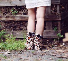 Hausstiefel Lady Boots Wildkatze M (Größe 38-41)