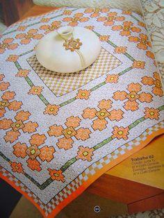 Chicken Scratch Patterns, Chicken Scratch Embroidery, Embroidery Stitches, Hand Embroidery, Swedish Embroidery, Cross Stitch Books, Cute Pattern, Rick Rack, Crochet Doilies
