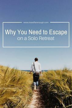 Sometimes you just need - or want - to escape. It is probably the best things you can do for yourself. Come on, it's time to book that escape.