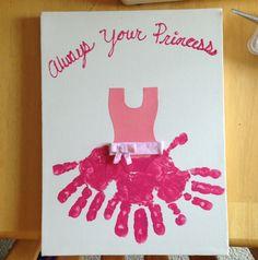 Handafdruk prinses