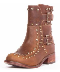 Look at this Patron Tan Syed Leather Boot on #zulily today!