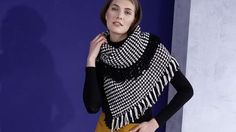 (Quelle: Privat, Olaf Szczepaniak) Informations About (Quelle: Privat, Olaf Szczepaniak) Pin You can Crochet Poncho, Free Crochet, Olaf, Free Knitting, Crochet Patterns, Wool, Black And White, Sweaters, Creative