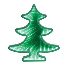 Sweeping Christmas tree branches are decorated with 54 tiny LED white lights that appear to shift colors; a unique mirror effect creates an infinity loop that's fascinating on a mantel or hanging on the wall. Uses 3 AA batteries (not included). Top Christmas Gifts, Christmas Wall Art, Christmas Themes, Holiday Decor, Holiday Gifts, Unique Mirrors, Home Decor Mirrors, Glass Mirrors, Mirror Mirror