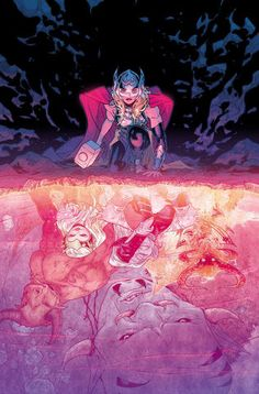 THOR Vol2 3 (2016) by Russell DAUTERMAN and Matthew WILSON | Beautiful COVERS of Marvel COMICS