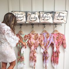bridesmaid robes cheap unique bridesmaid gifts cotton kimono bridal shower gift Bridal Party Robes