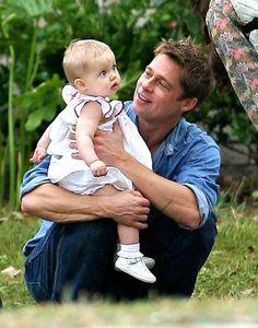 Brad  Pitt with Shilo