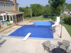 Autocover on a Fox Pool