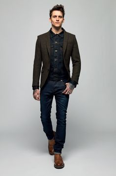 Superdry AW13 Collection: Blue and brown, style for men