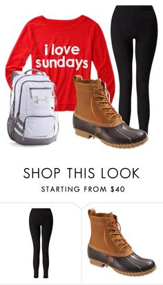 """""""DONE!!!!!!!!!!!!!"""" by jesca27 on Polyvore featuring Miss Selfridge, L.L.Bean and Under Armour"""