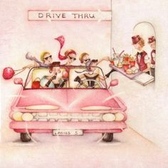 Drive Thru Female Birthday Card Ladies Who Love Life - £2.95 - FREE UK Delivery. Make Your Purchase : http://www.pippins.co.uk/seek-and-ye-shall-find-female-birthday-card-ladies-who-love-life.html