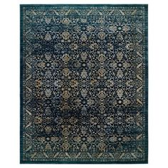 • Durable 62% polypropylene/30% jute/5% polyester/3% cotton blend<br>• Latex backing<br>• Low pile/machine loomed<br>• Indoor use<br><br>Update any room in the house with the Safavieh Evoke Rug. Perfect for the living room, dining room or entryway, friends and family will delight in the beautiful and intricate design. The rich colors of blue, black, gray and orange will dress up your home in a flash. Easy ca...