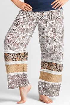 These are PUNJAMMIE pajama bottoms. Each pair purchased helps to restore women in India who have been formerly enslaved in the India sex trade. Click on the pic to get some!