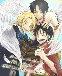 luffy ace and sabo - Google Search
