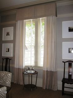 bordered drapes