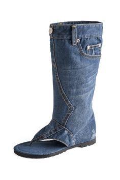 Dani.K Women's Tall Jeans Sandal Boot 100% Cotton Blue Wash (Size 7.5) Dani.K http://www.amazon.com/dp/B00HG0C4N8/ref=cm_sw_r_pi_dp_gS9wub1YF9F48