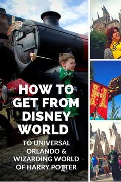 The Most Convenient And Affordable Way To Visit Wizarding World Of Harry Potter From Disney Is By Purchasing A Universal Ticket That Includes Shuttle