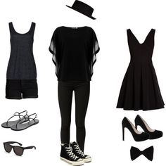 Daughter of Nyx by mustang4155 on Polyvore featuring Morgan, Reiss, Pieces, Giuseppe Zanotti, Converse, RetroSuperFuture, PINK BOW, River Island and De Siena