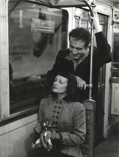 Paris Métro, 1953 by Robert Doisneau