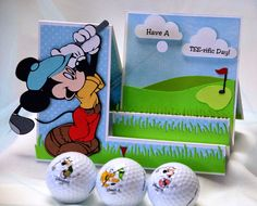 A Star For Chiemi: Golfing with Mickey