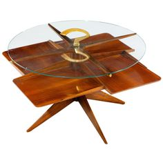 Side table in the manner of Ico Parisi