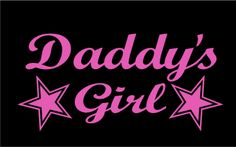 Daddy's Girl Decal Windows Cars Trucks Tailgates Laptop Bumper Stickers $20 via @Shopseen Car Window Stickers, Bumper Stickers, Truck Decals, Vinyl Decals, Truck Tailgate, Daddys Girl, Truck Accessories, Girl Wallpaper, To My Daughter