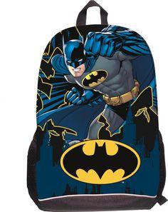 b37b23cf3813 Little Boys Batman School Backpack Hero Cartoon Printing Bag Children  Backpacks Infants  School Kids Batman Bag Aged