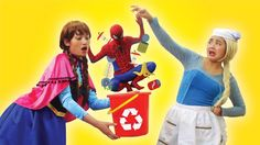 Frozen Elsa & Frozen Anna vs Spiderman BABY SITTER! Harley Quinn Naughty vs Joker Fun Superhero IRL Frozen Elsa & Frozen Anna vs Spiderman BABY SITTER! Harley Quinn Naughty vs Joker Funny Superhero IRL Watch more of our Spiderman and Frozen Elsa vs Joker and other superheroes videos: Spiderman Frozen Elsa & Superheroes in Real Life: https://www.youtube.com/playlist?list=PLQa7kdJlc3KHVYHenBIJxFPvhXcEvsGXw Frozen Elsa & Spiderman GO TO SCHOOL! w/ Maleficent Teacher Joker…