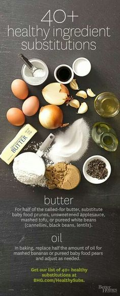 Healthy substitutions #recipes